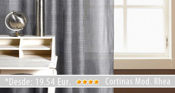 Novedades en cortinas y estores cortinadecor for Cortinas grises y blancas