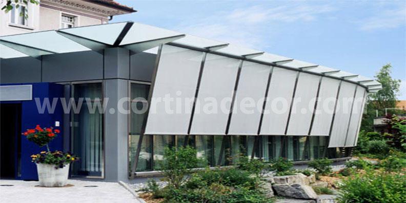 soluciones para sistemas de estores screen para exterior