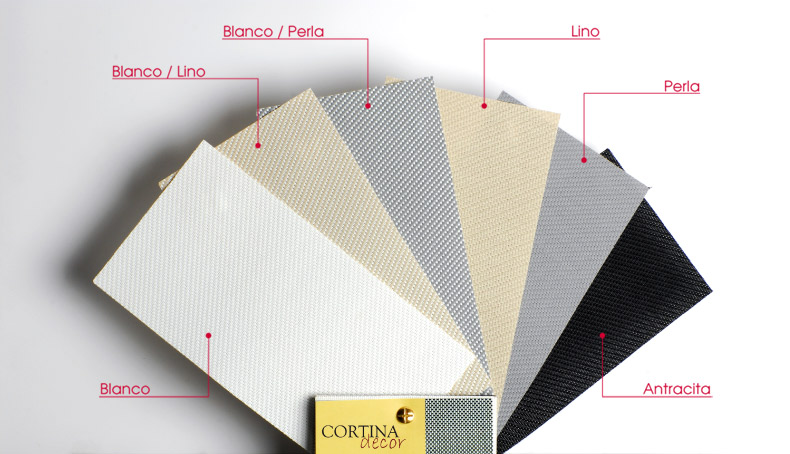 colores para sistemas de screen exterior