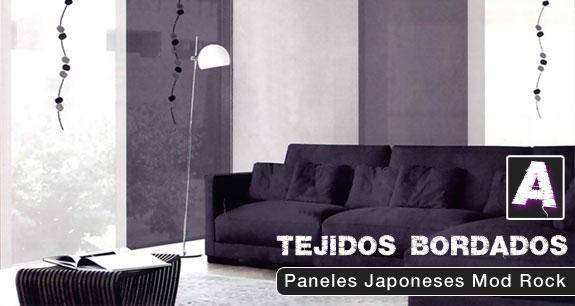 Novedades en cortinas y estores cortinadecor - Estores y paneles japoneses ...