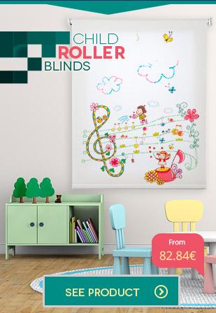 Childs Roller blinds