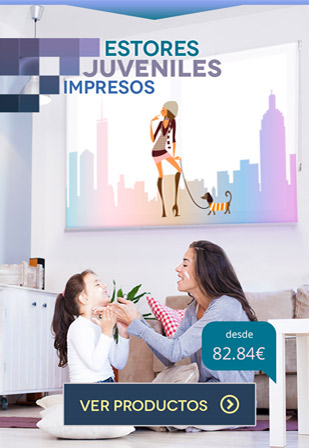 Estores Enrollables Juveniles