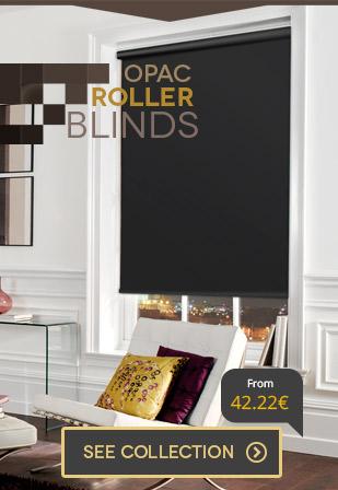 Opaque roller blinds