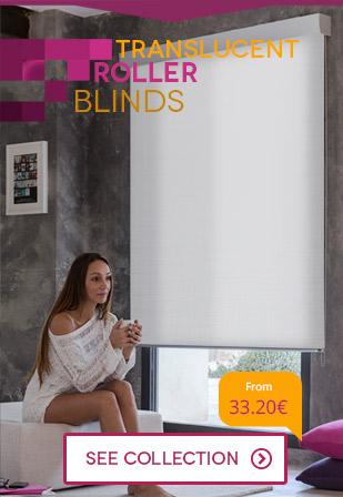 Plain roller blinds