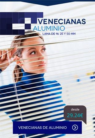 Venecianas aluminio