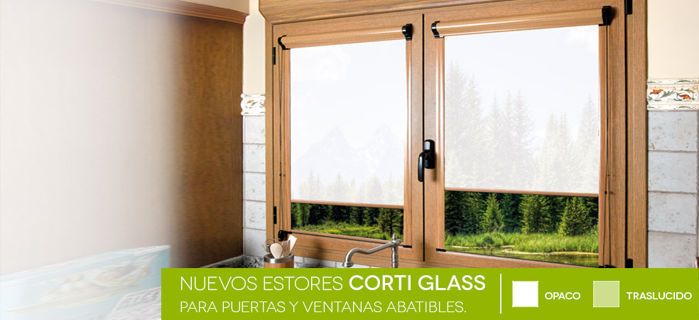 Estores corti glass