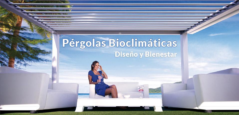 pergola bioclimatica sólo en Cortinadecor