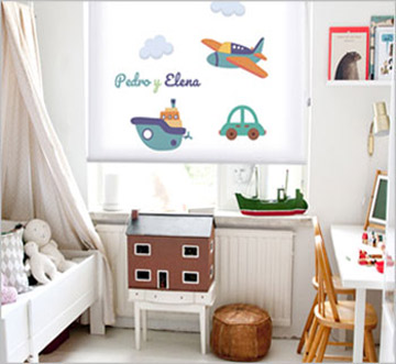 Childs Roller blinds