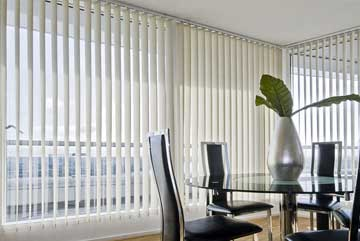 Vertical blinds Vertical slats